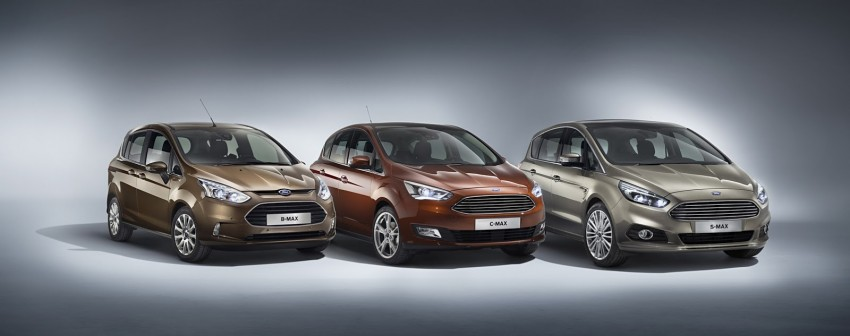 Ford C-MAX and Grand C-MAX – facelifted MPVs debut Image #272543