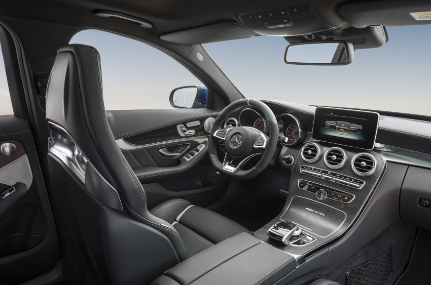 W205 Mercedes-Benz C 63 AMG and C 63 AMG S first photos and details – 700 Nm of torque! Image #274852