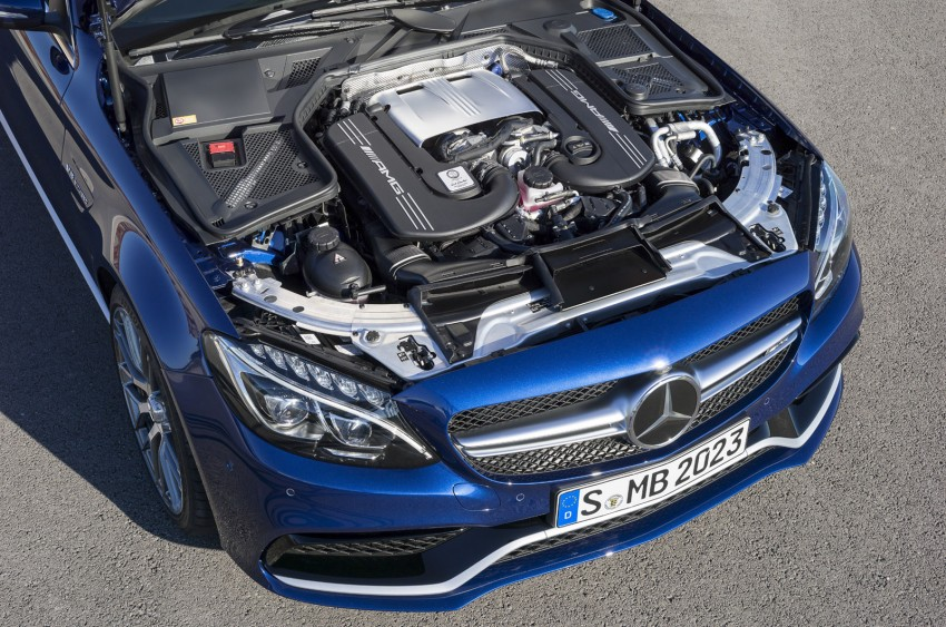 W205 Mercedes-Benz C 63 AMG and C 63 AMG S first photos and details – 700 Nm of torque! Image #274838