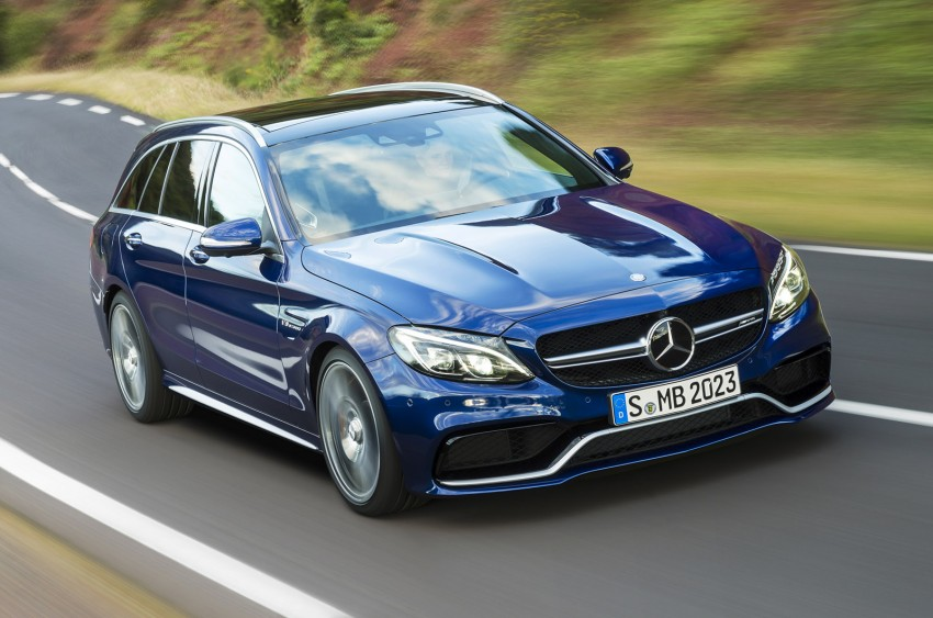 W205 Mercedes-Benz C 63 AMG and C 63 AMG S first photos and details – 700 Nm of torque! Image #274839