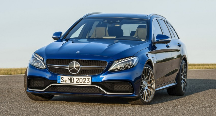 W205 Mercedes-Benz C 63 AMG and C 63 AMG S first photos and details – 700 Nm of torque! Image #274841
