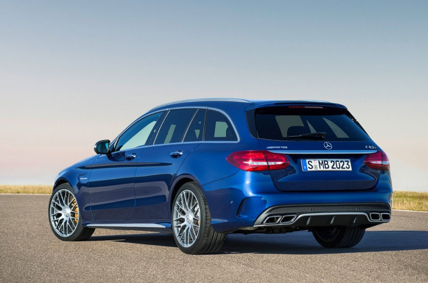 W205 Mercedes-Benz C 63 AMG and C 63 AMG S first photos and details – 700 Nm of torque! Image #274823