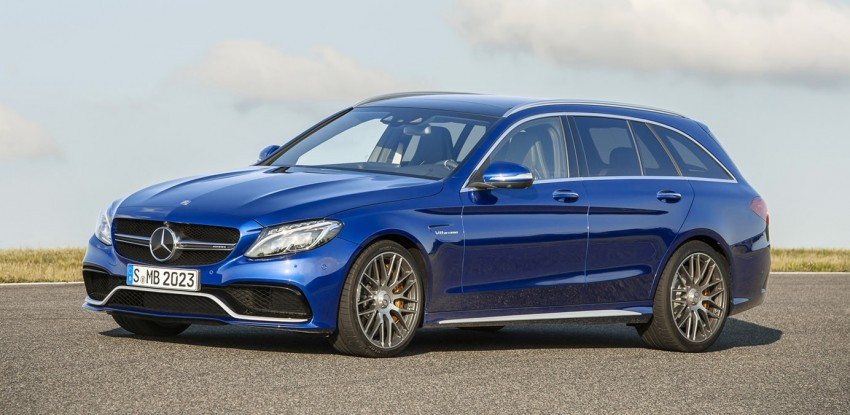 W205 Mercedes-Benz C 63 AMG and C 63 AMG S first photos and details – 700 Nm of torque! Image #274843