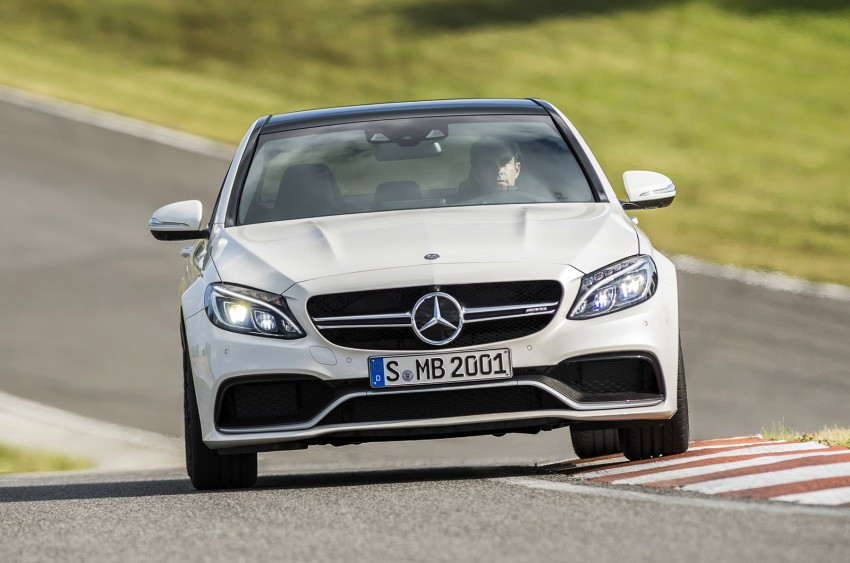W205 Mercedes-Benz C 63 AMG and C 63 AMG S first photos and details – 700 Nm of torque! Image #274844