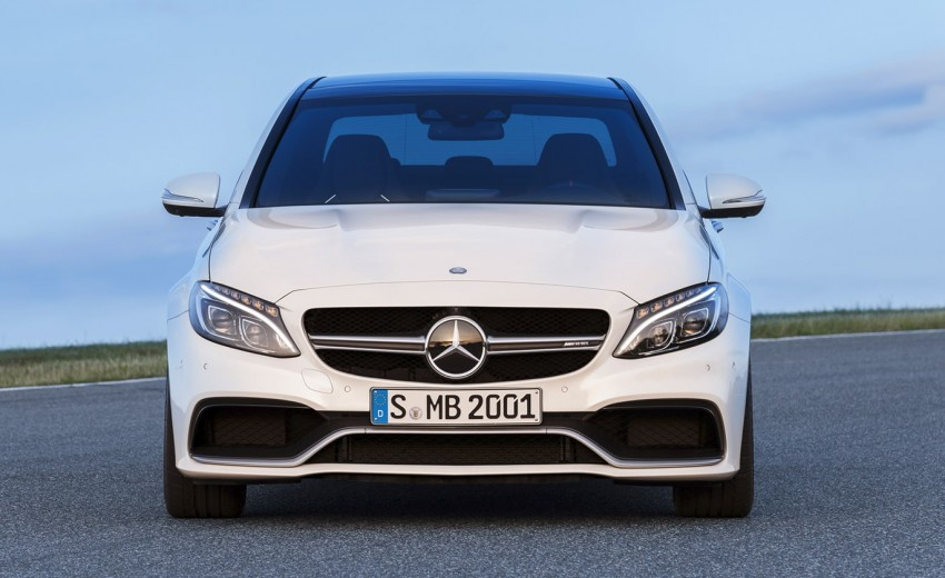W205 Mercedes-Benz C 63 AMG and C 63 AMG S first photos and details – 700 Nm of torque! Image #274826