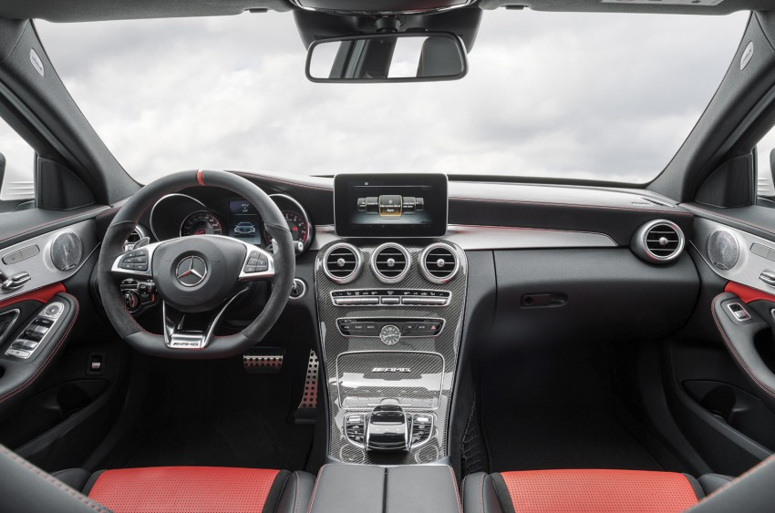 W205 Mercedes-Benz C 63 AMG and C 63 AMG S first photos and details – 700 Nm of torque! Image #274828
