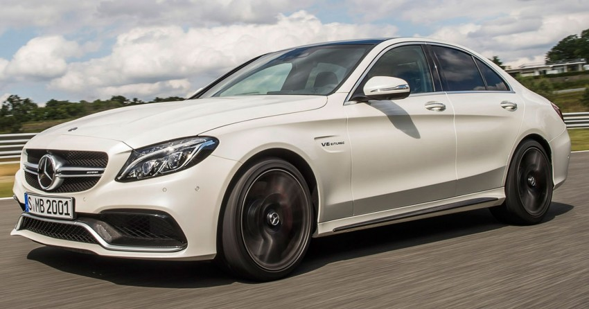 W205 Mercedes-Benz C 63 AMG and C 63 AMG S first photos and details – 700 Nm of torque! Image #274830