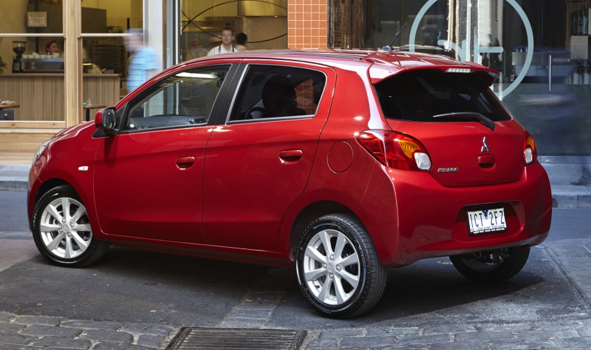 2015 Mitsubishi Mirage – minor update announced Image #276508