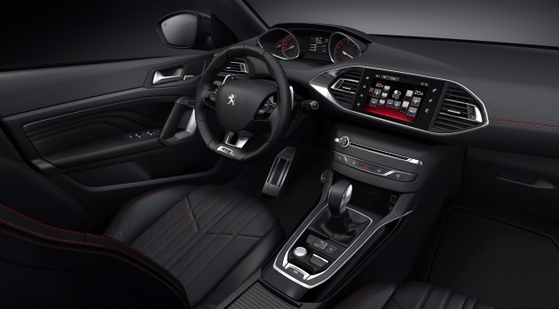 new peugeot 308 gt - refreshed looks and specs