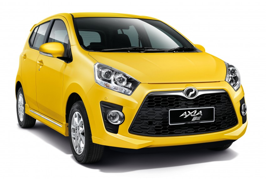 Perodua Axia launched – final prices lower than estimated, from RM24,600 to RM42,530 on-the-road Image #272045