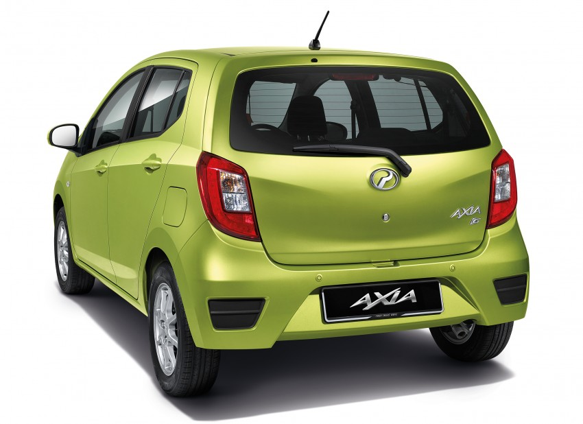 Perodua Axia launched – final prices lower than estimated, from RM24,600 to RM42,530 on-the-road Image #272042