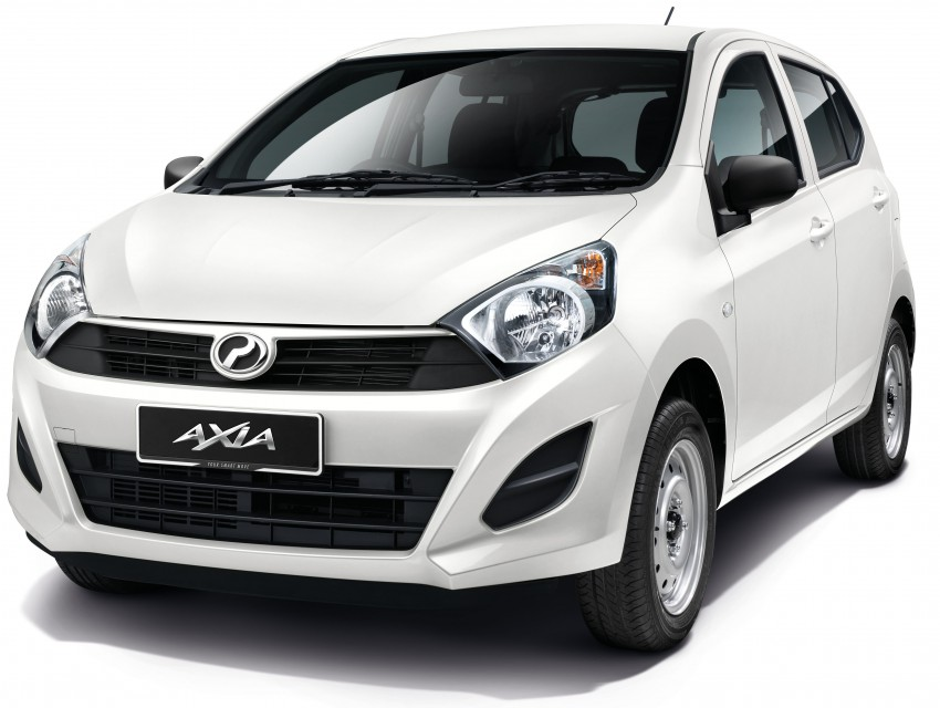 Perodua Axia launched – final prices lower than estimated, from RM24,600 to RM42,530 on-the-road Image #272035