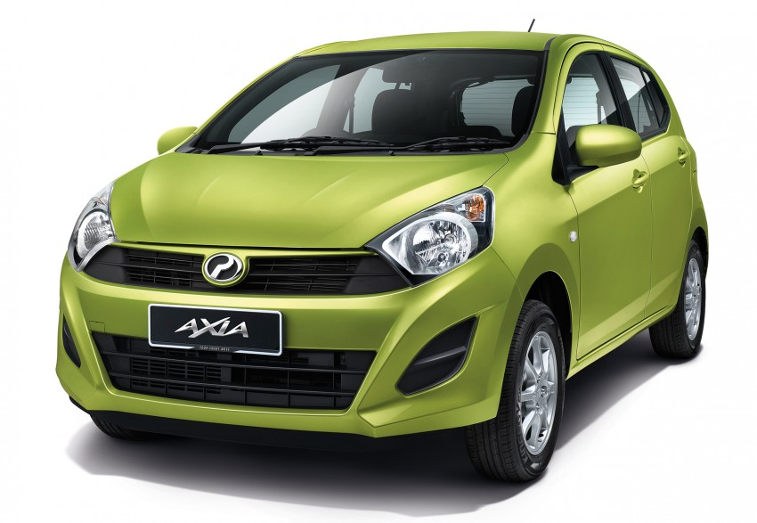 Perodua Axia launched – final prices lower than estimated, from RM24,600 to RM42,530 on-the-road Image #272041