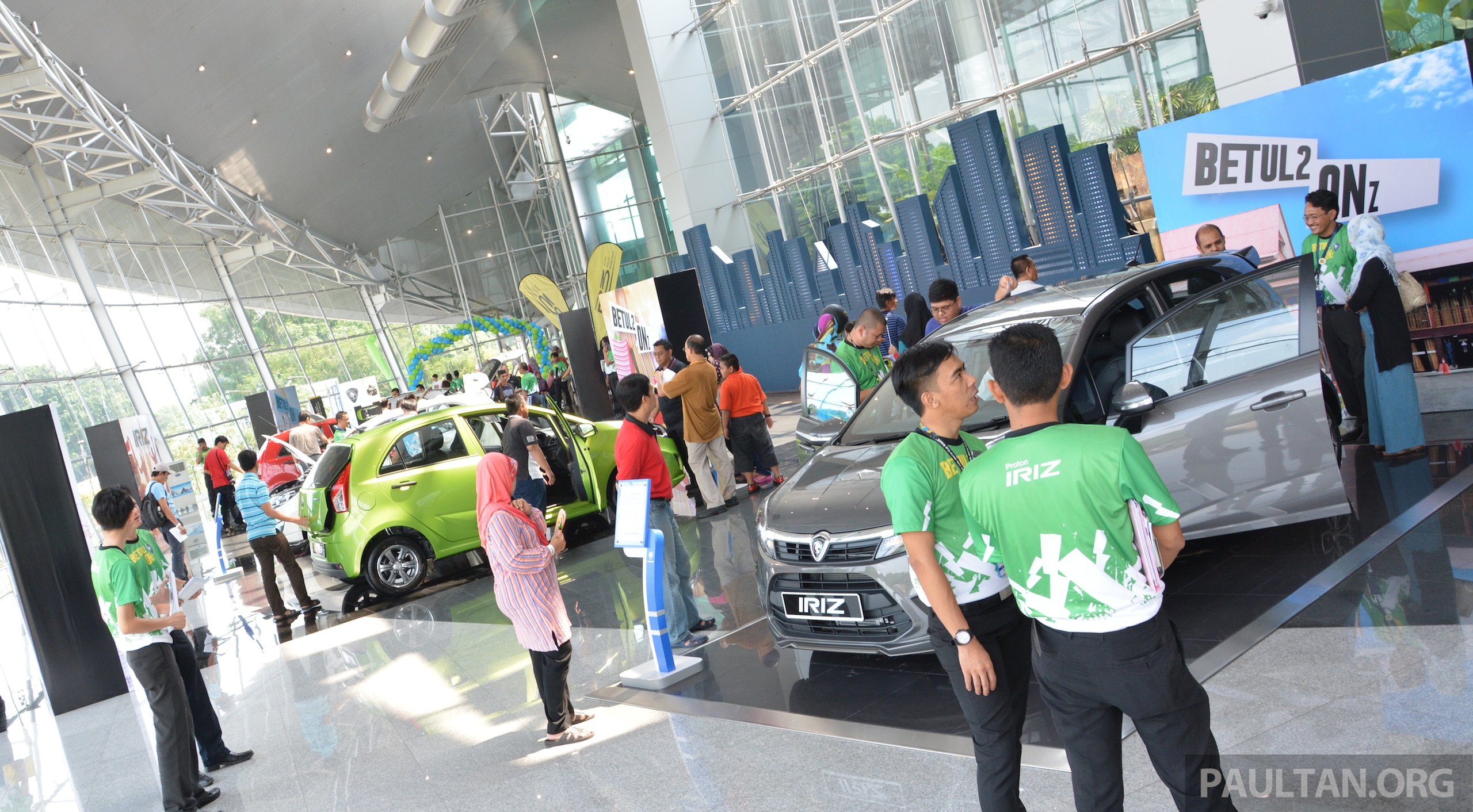 Gallery Alami Proton Open Day At Proton Coe Test And