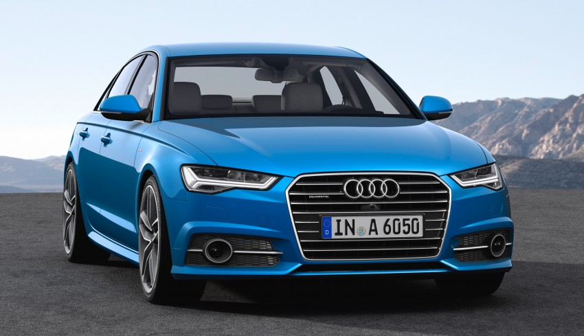 Audi A6 facelift officially revealed with new engines