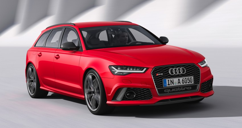 Avant Loan Reviews >> Audi S6 and RS6 Avant updated - V8 with 450/560 hp