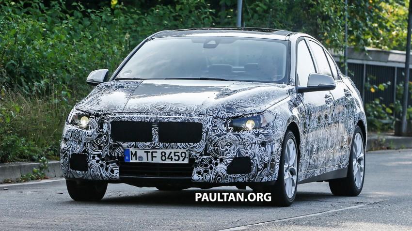 SPYSHOTS: F52 BMW 1 Series Sedan in the wild Image #269374