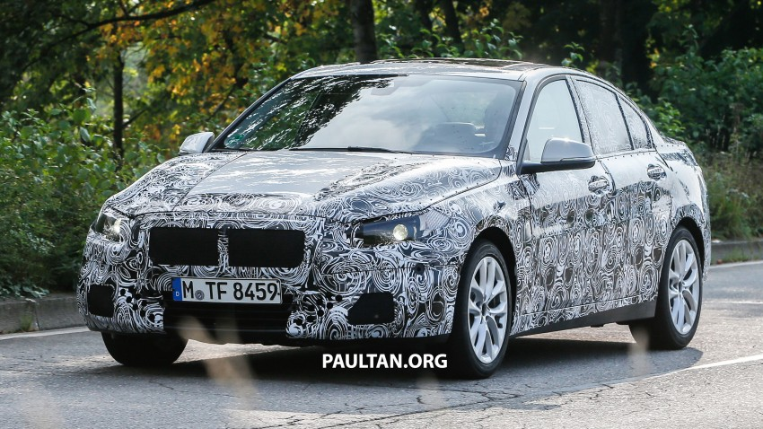 SPYSHOTS: F52 BMW 1 Series Sedan in the wild Image #269373