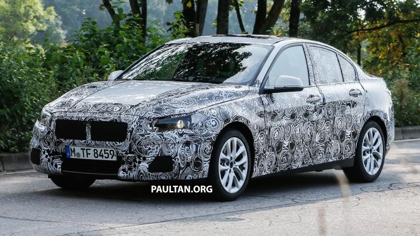 SPYSHOTS: F52 BMW 1 Series Sedan in the wild Image #269371