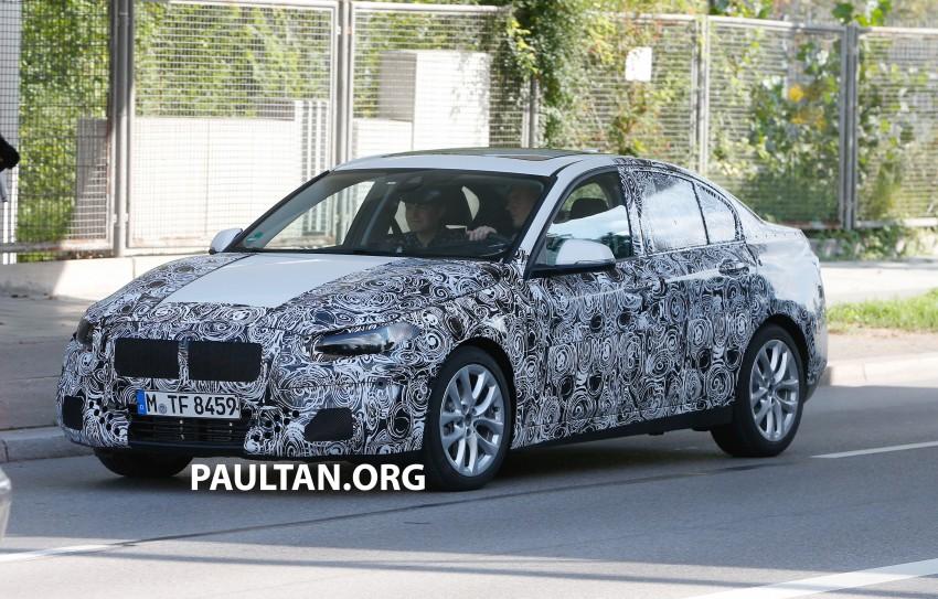 SPYSHOTS: F52 BMW 1 Series Sedan in the wild Image #270165