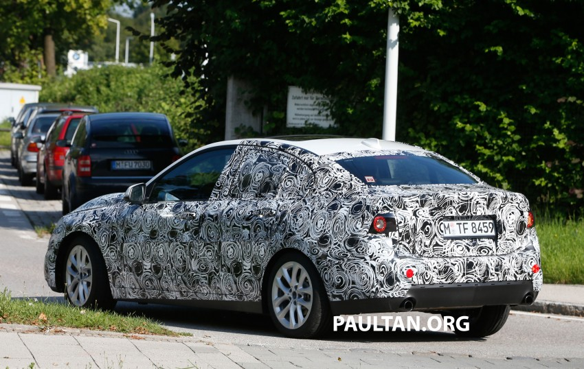 SPYSHOTS: F52 BMW 1 Series Sedan in the wild Image #270159