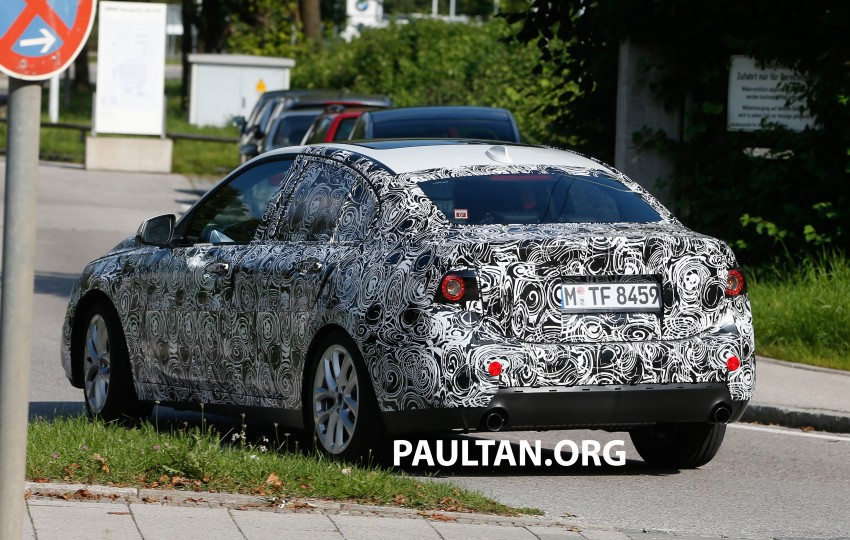 SPYSHOTS: F52 BMW 1 Series Sedan in the wild Image #270161