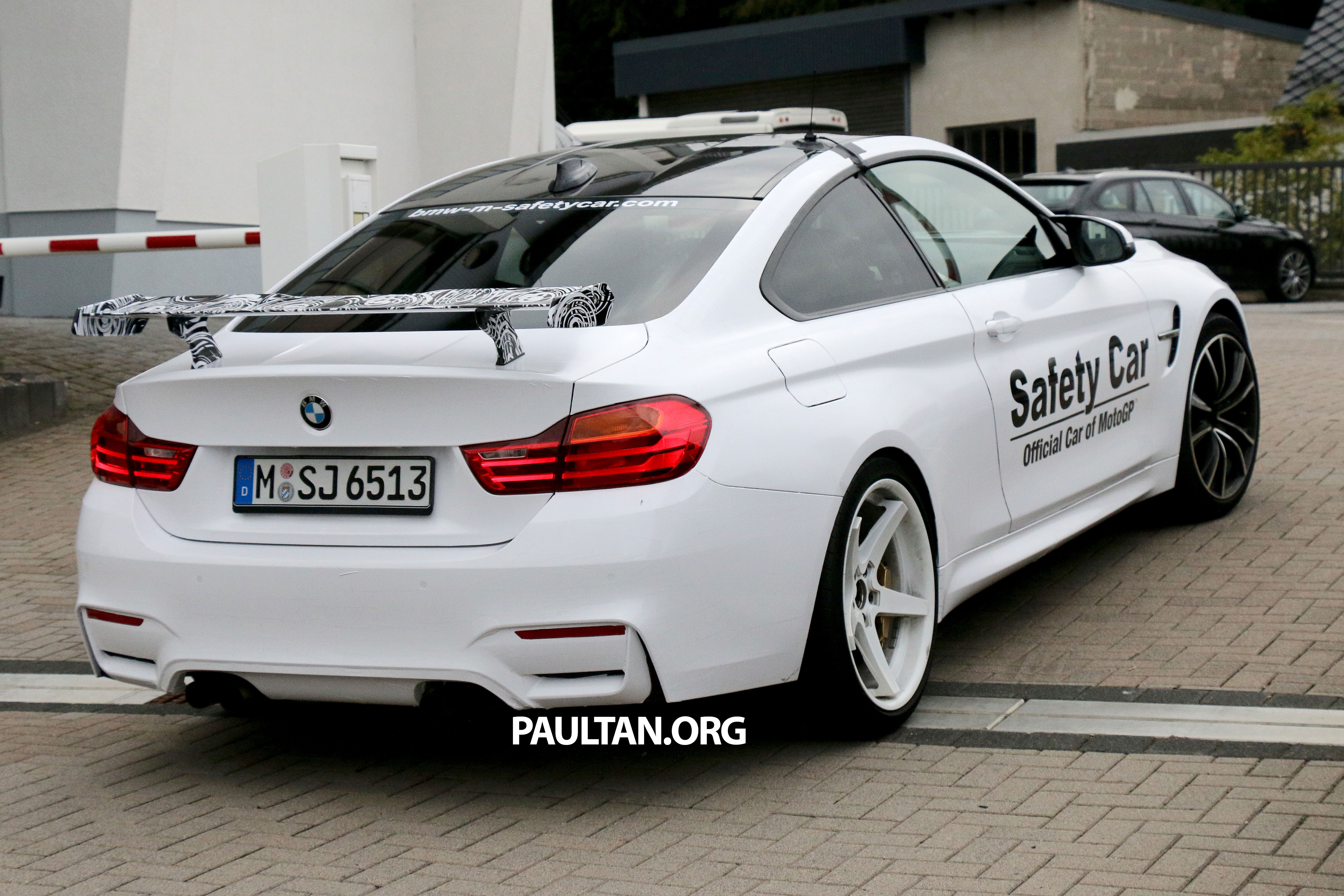 Spyshots Bmw M4 With Big Wing And Light Camo Sighted