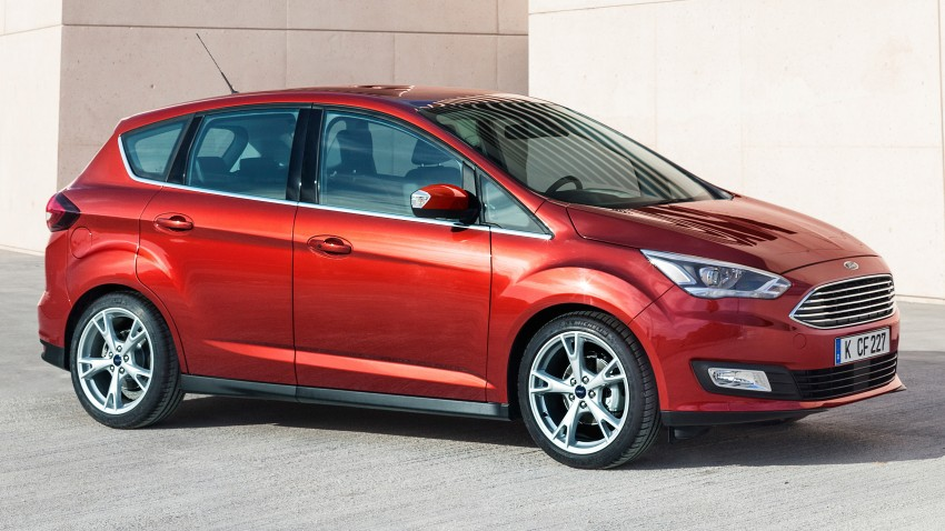 Ford C-MAX and Grand C-MAX – facelifted MPVs debut Image #272472