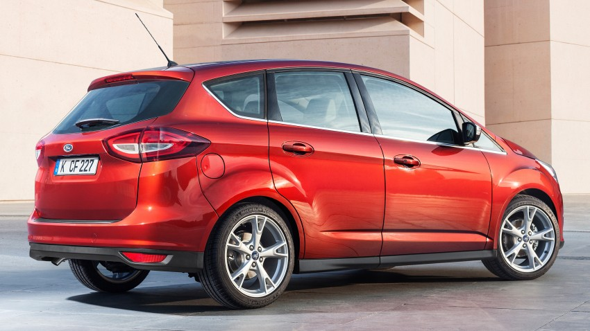 Ford C-MAX and Grand C-MAX – facelifted MPVs debut Image #272473