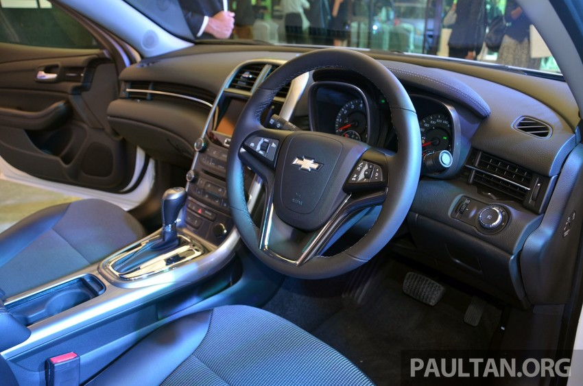 Chevrolet Malibu launched in Malaysia – 2.4L, RM155k Image #267929