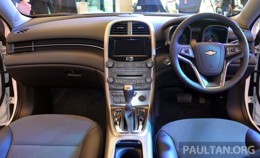 Chevrolet Malibu launched in Malaysia – 2.4L, RM155k Image #267932