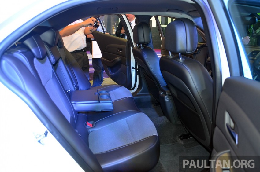 Chevrolet Malibu launched in Malaysia – 2.4L, RM155k Image #267933