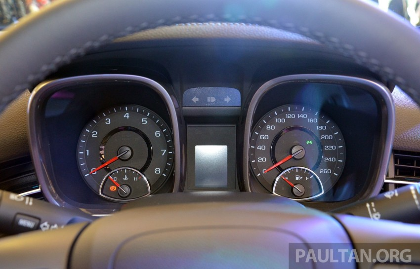 Chevrolet Malibu launched in Malaysia – 2.4L, RM155k Image #267937