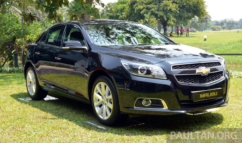 Chevrolet Malibu launched in Malaysia – 2.4L, RM155k Image #267921