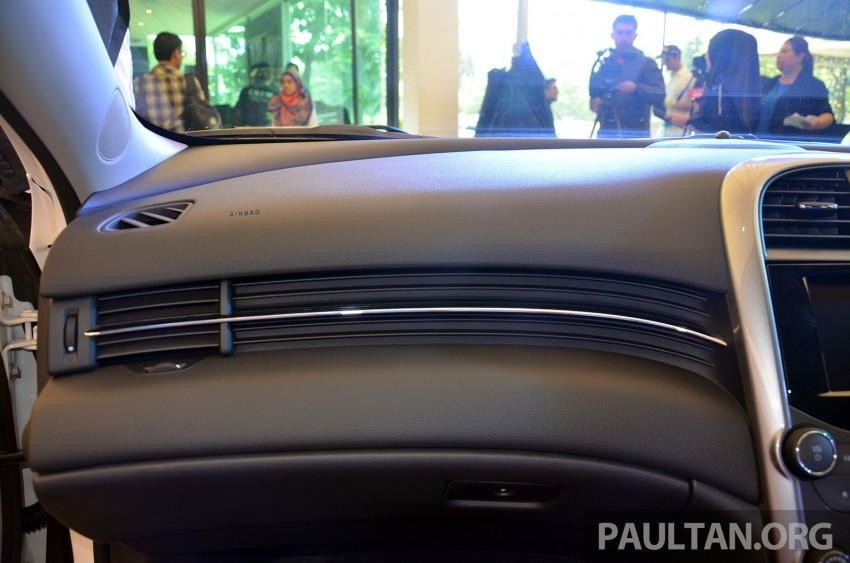 Chevrolet Malibu launched in Malaysia – 2.4L, RM155k Image #267943