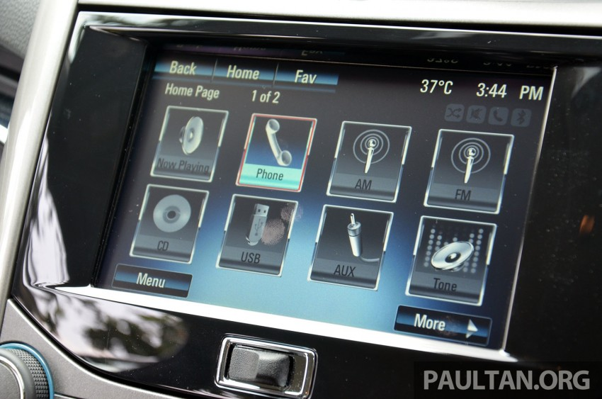Chevrolet Malibu launched in Malaysia – 2.4L, RM155k Image #267949