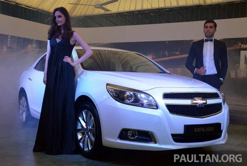 Chevrolet Malibu launched in Malaysia – 2.4L, RM155k Image #267954