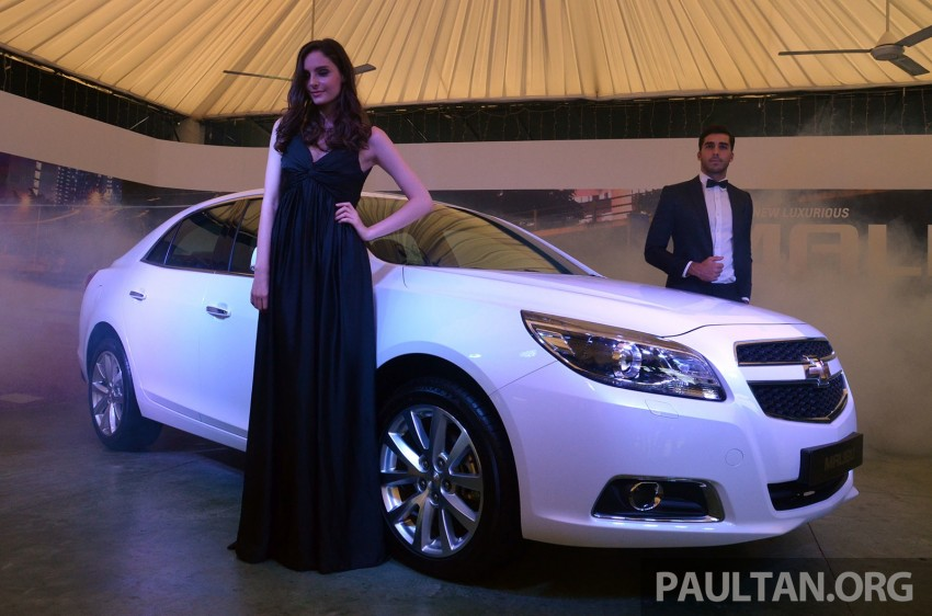 Chevrolet Malibu launched in Malaysia – 2.4L, RM155k Image #267955