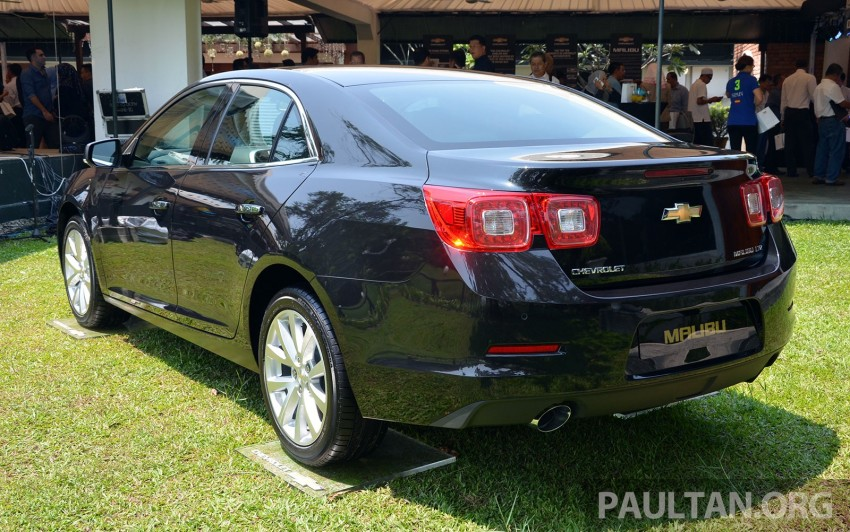 Chevrolet Malibu launched in Malaysia – 2.4L, RM155k Image #267923