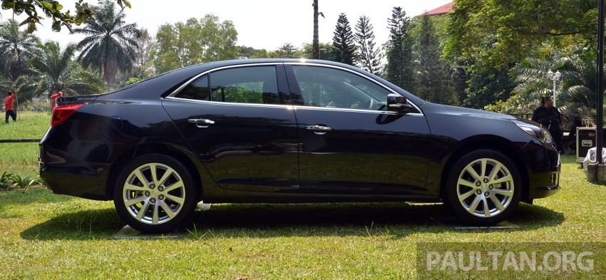Chevrolet Malibu launched in Malaysia – 2.4L, RM155k Image #267924