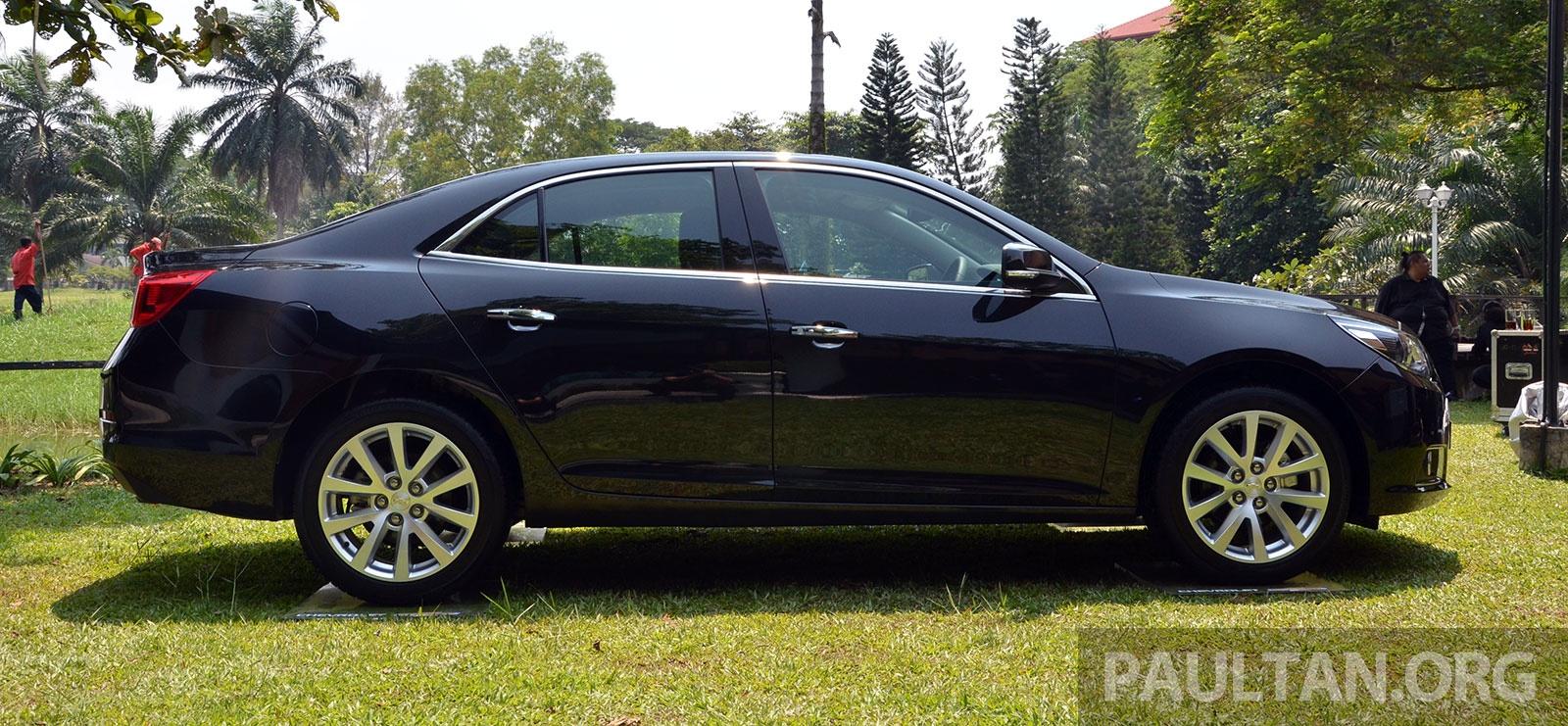 Malibu 2018 >> Chevrolet Malibu launched in Malaysia – 2.4L, RM155k Paul Tan - Image 267924