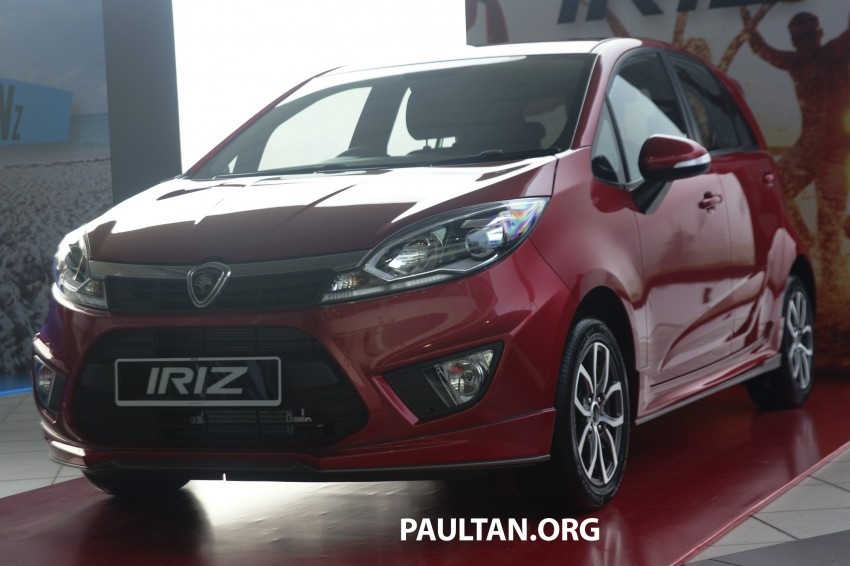 DRIVEN: Proton Iriz 1.6 CVT – first driving impressions Image #275369