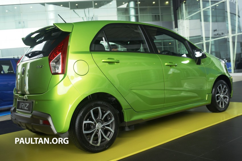 DRIVEN: Proton Iriz 1.6 CVT – first driving impressions Image #275370