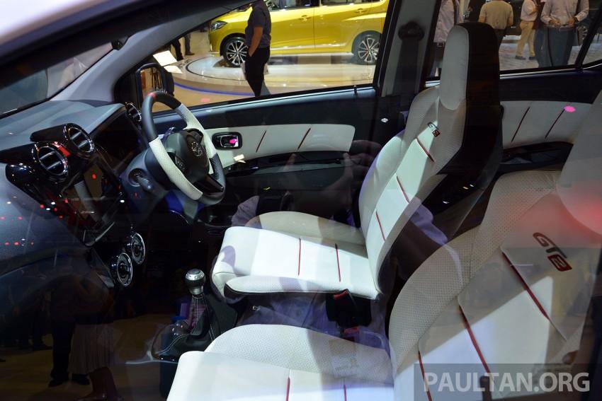 IIMS 2014: Daihatsu Ayla GT2 shows Axia possibilities Image #273829