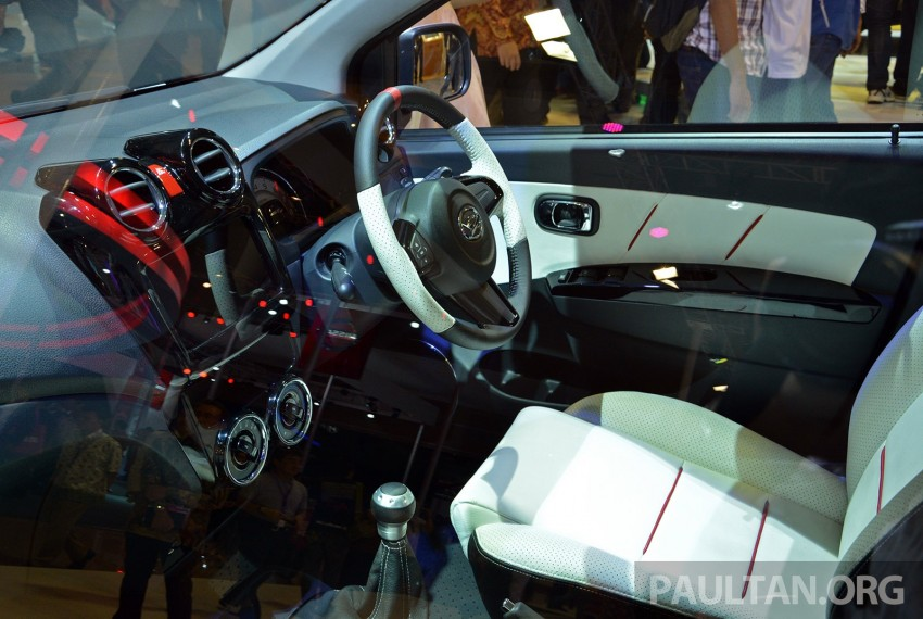 IIMS 2014: Daihatsu Ayla GT2 shows Axia possibilities Image #273834