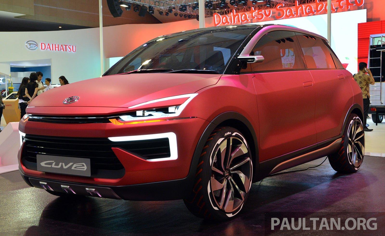 IIMS 2014: Daihatsu CUV-2 Concept, B-segment SUV
