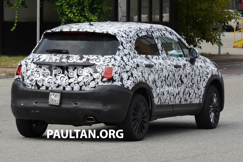 Fiat 500X first official photo leaked ahead of debut Image #272123