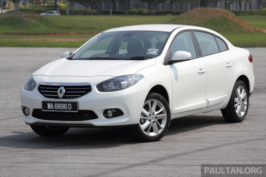 DRIVEN: Renault Fluence 2.0 X-Tronic CKD tested Image #268131