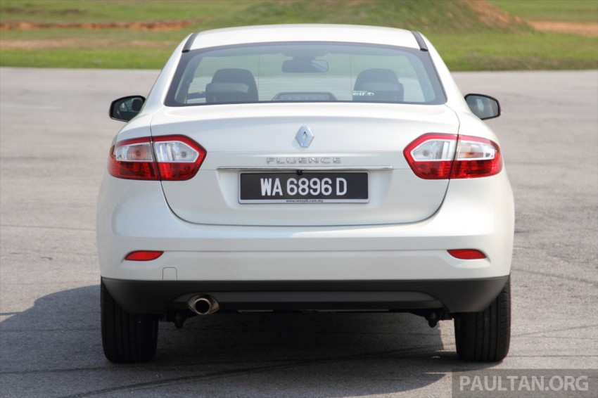 DRIVEN: Renault Fluence 2.0 X-Tronic CKD tested Image #268145