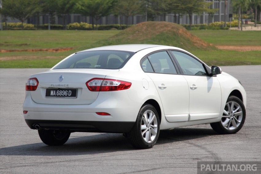 DRIVEN: Renault Fluence 2.0 X-Tronic CKD tested Image #268147